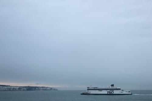 Crossing Dover to Calais