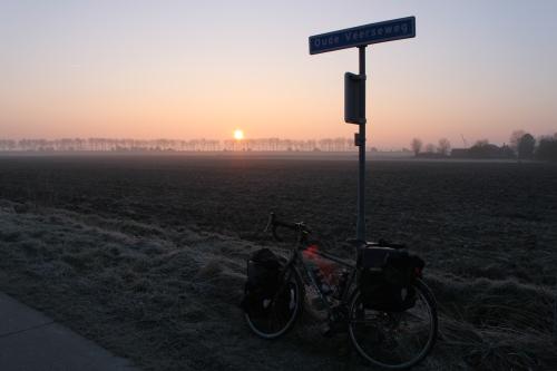 Sunrise in Holland