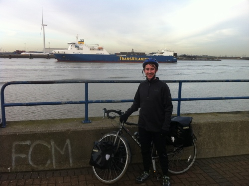 Me at the Thames Estuary- day 1