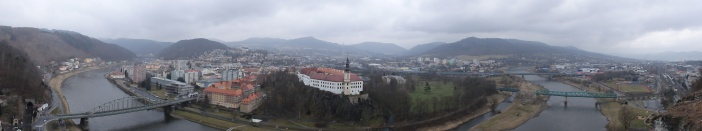 View over Decin