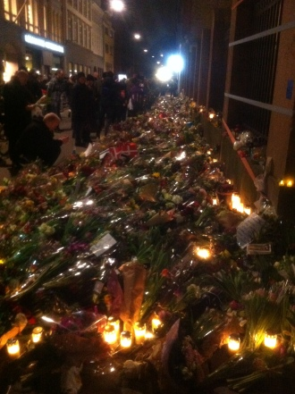 Tributes to Copenhagen synagogue shooting