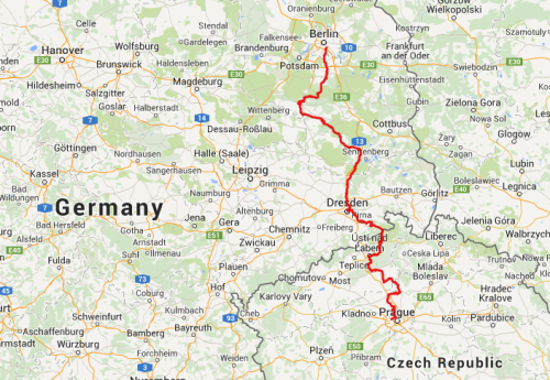 Berlin to Prague