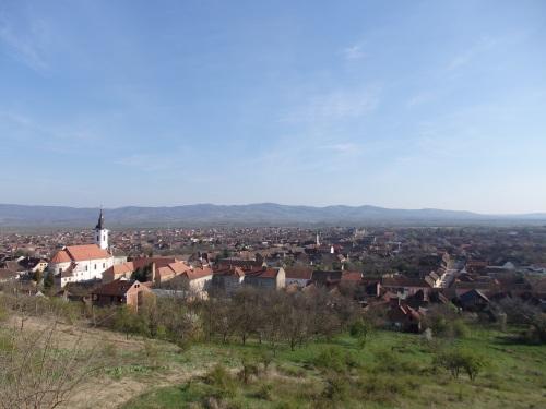 View over Bela Crkva