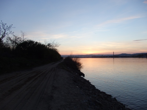 Sunset near Kladovo