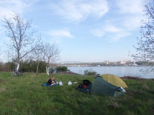 Campsite near Kladovo