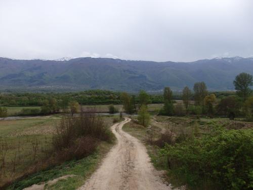 Just past the Macedonian border