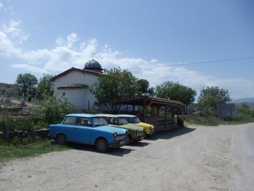Old school Bulgarian cars