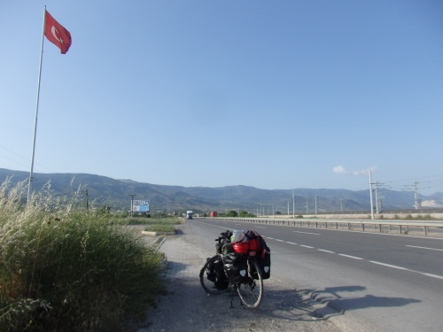 Heading south from Sakarya