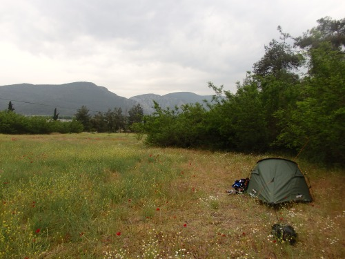 Camping between Sakarya and Bozuyuk