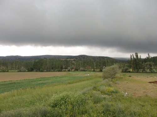 Another impending thunderstorm