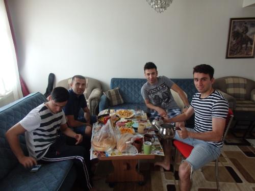My hosts in Merzifon