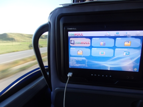 Bus from Samsun to Ankara