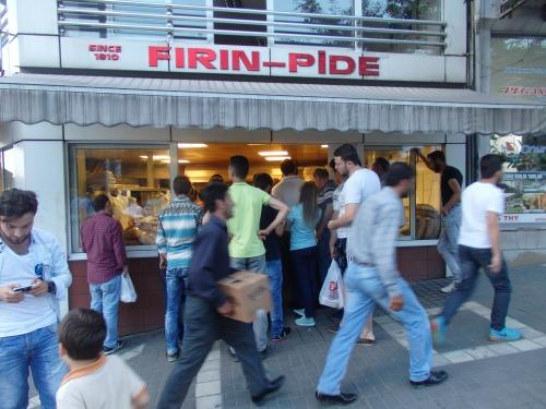 Pre-Ramadan bread queue