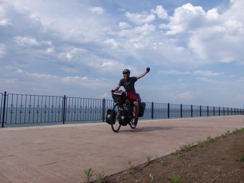Cycling along the Black Sea