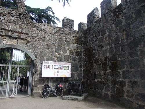 Old castle near border