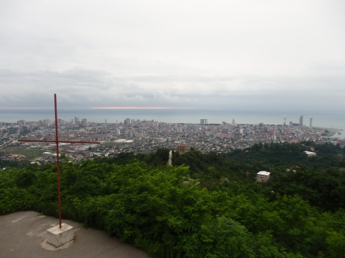 View over Batumi
