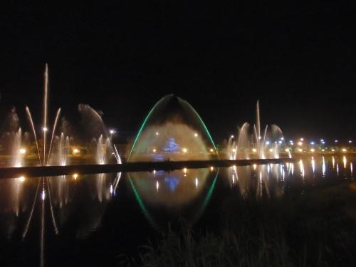 Water fountain, Batumi