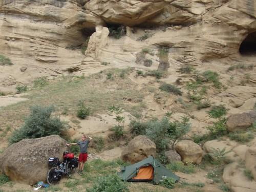 The best campsite so far...