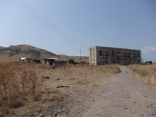 Between Tbilsi and the Armenian border