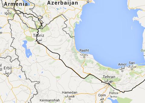 From Armenia to Iran